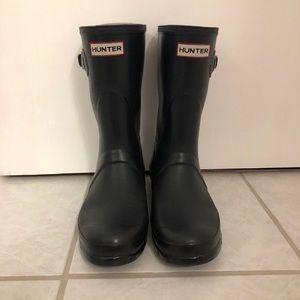 Short matte Hunter Rainboots